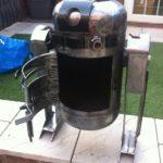 Fabrication poele a bois