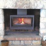Installation poele a bois dans cheminée