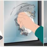 Nettoyage vitre poele à bois