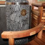Poele a bois sauna