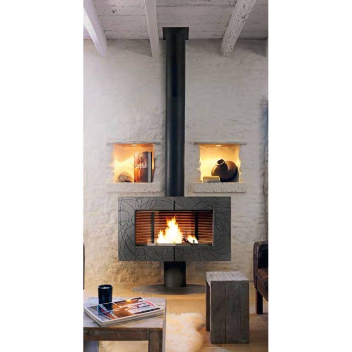 poele cheminee bois