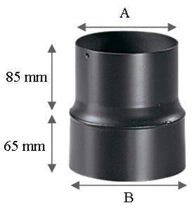 reduction diametre tuyau de poele a bois